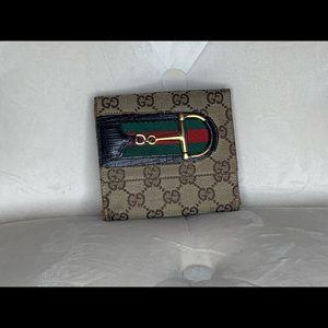 Vintage Gucci Horsebit short wallet